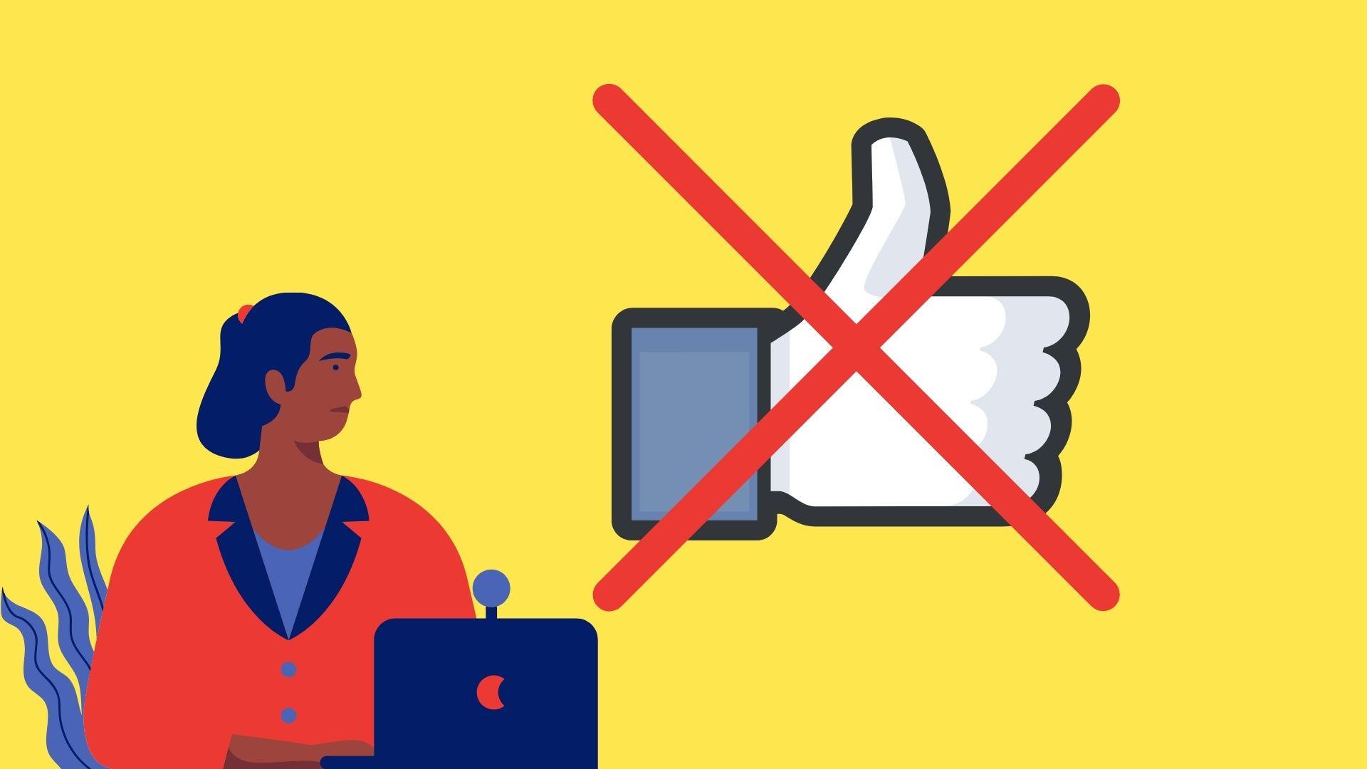 ilustracja przedstawiająca zmiany nowego interfaceu facebooka